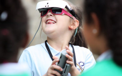 St. Peter's student fulfills visual wish with eSight glasses
