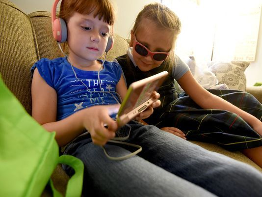 Lizzy Myers' parents want to help other children with vision impairment