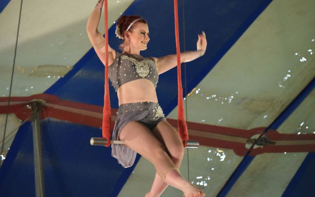 Circus in Lexington raises money for Visual Bucket List Foundation