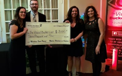 Modern Woodmen of America supports fundraiser for The Visual Bucket List Foundation