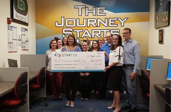 Startek helps Visual Bucket List Foundation grant children's wishes