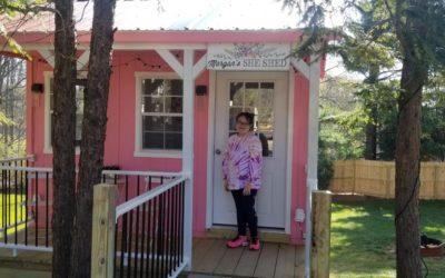 Visual Bucket List gives girl dream she-shed